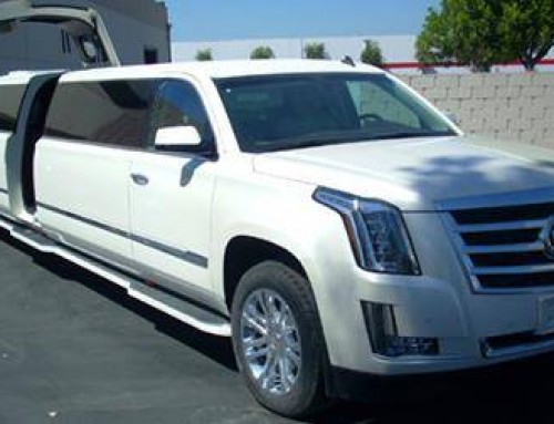 All New body Style 2015 Cadillac Escalade 20 passenger for your wedding.
