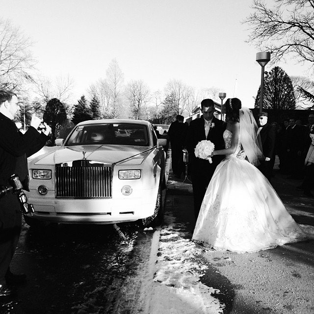 M&V Limousines Wedding Limos