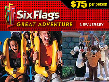Six Flags Great Adventure M V Limousines Ltd New York Limo Company