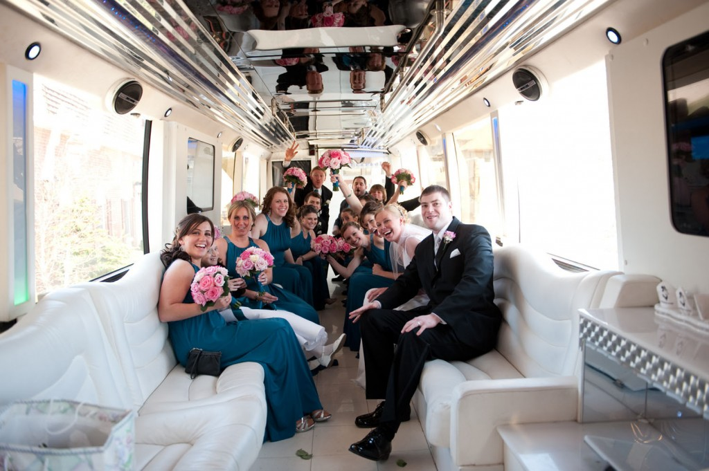 Party Bus for a Wedding