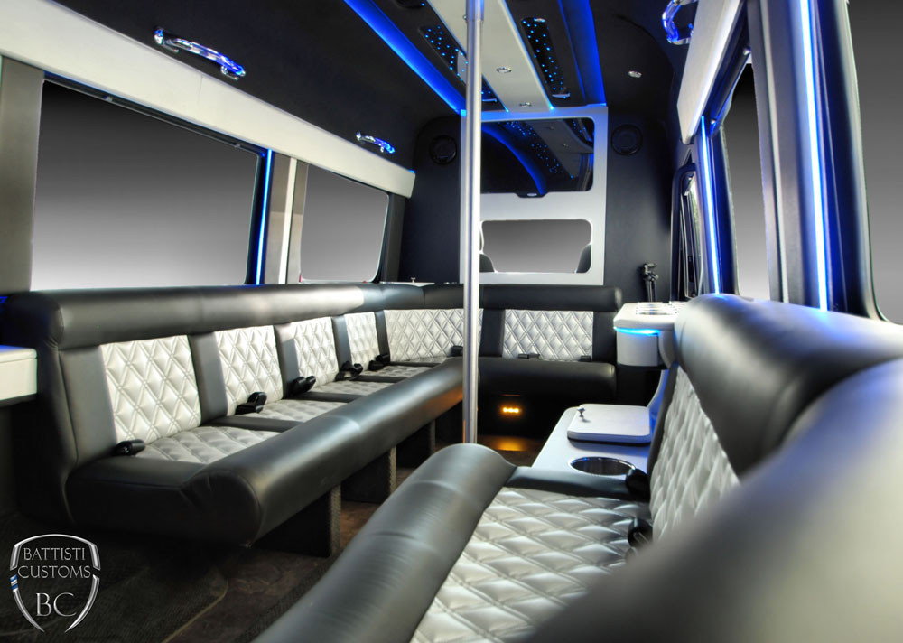 Party Bus Rentals MV Limousines LTD New York Limo Company - Do charter buses have bathrooms