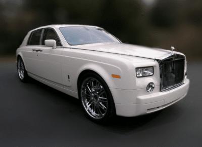 New Phantom Rolls Royce
