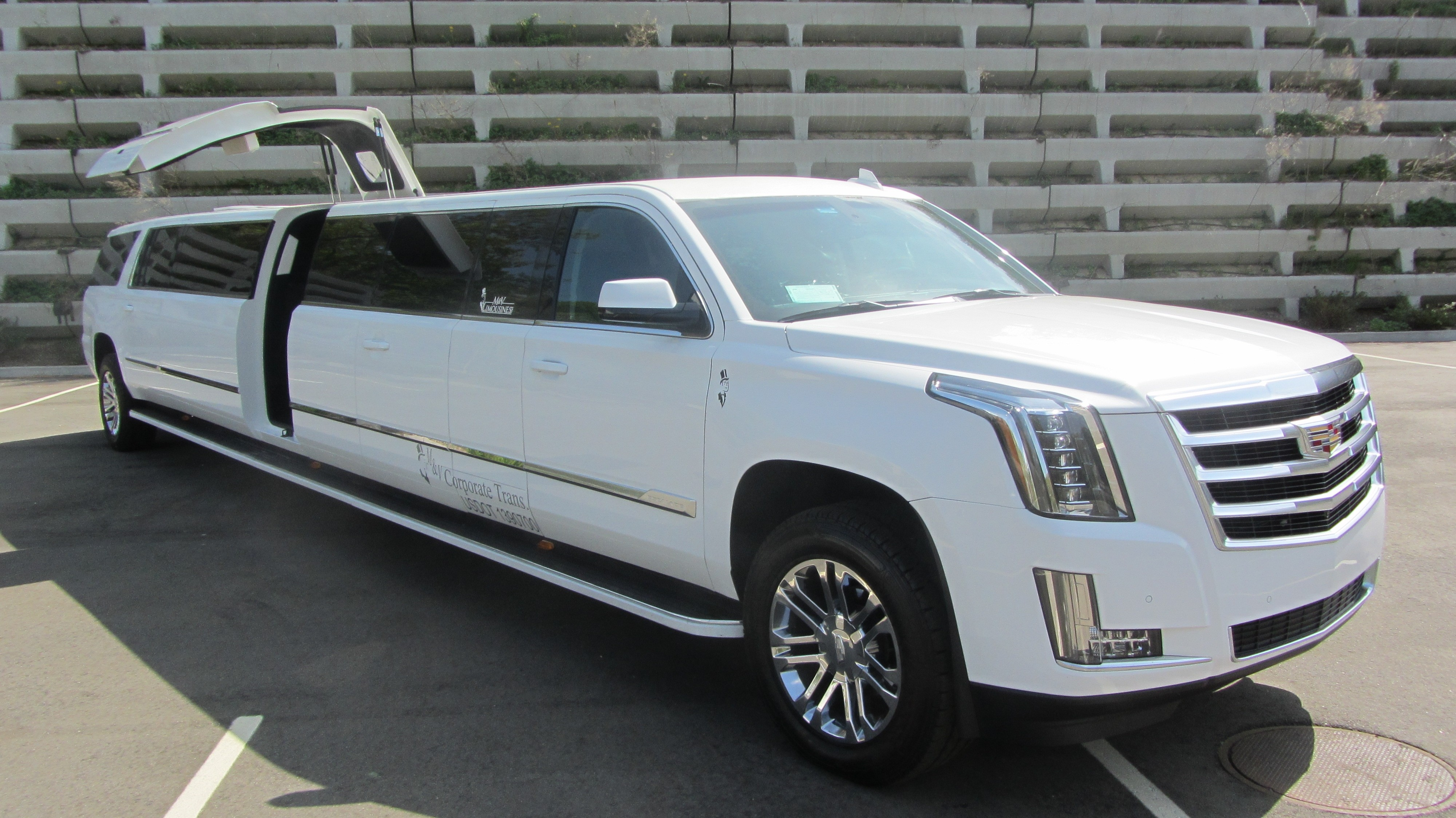2016 Cadillac Escalade Limousine with Marble floors Jet and 5th door 21 passenger
