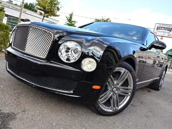 New Bentley Mulsanne Black