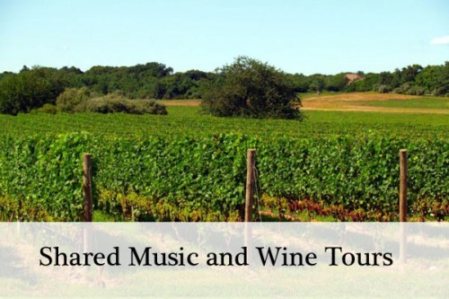Shared Music and Wine tours