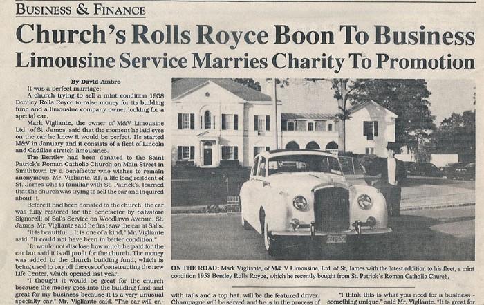 1958 Bentely Rolls Royce
