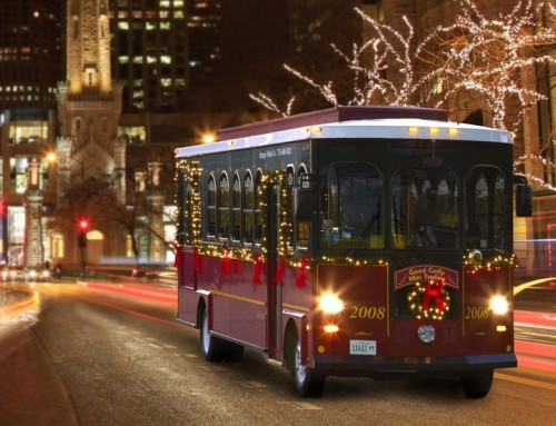 New NYC Christmas Express Trolley Service will start on November 25th