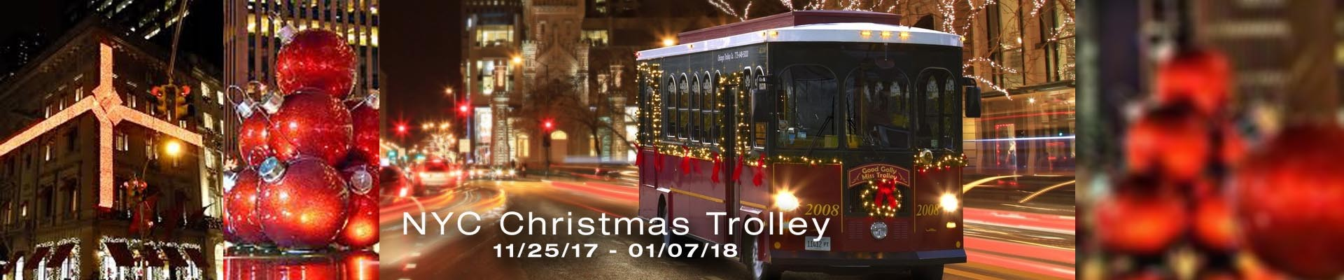 CHristmas Trolley NYC