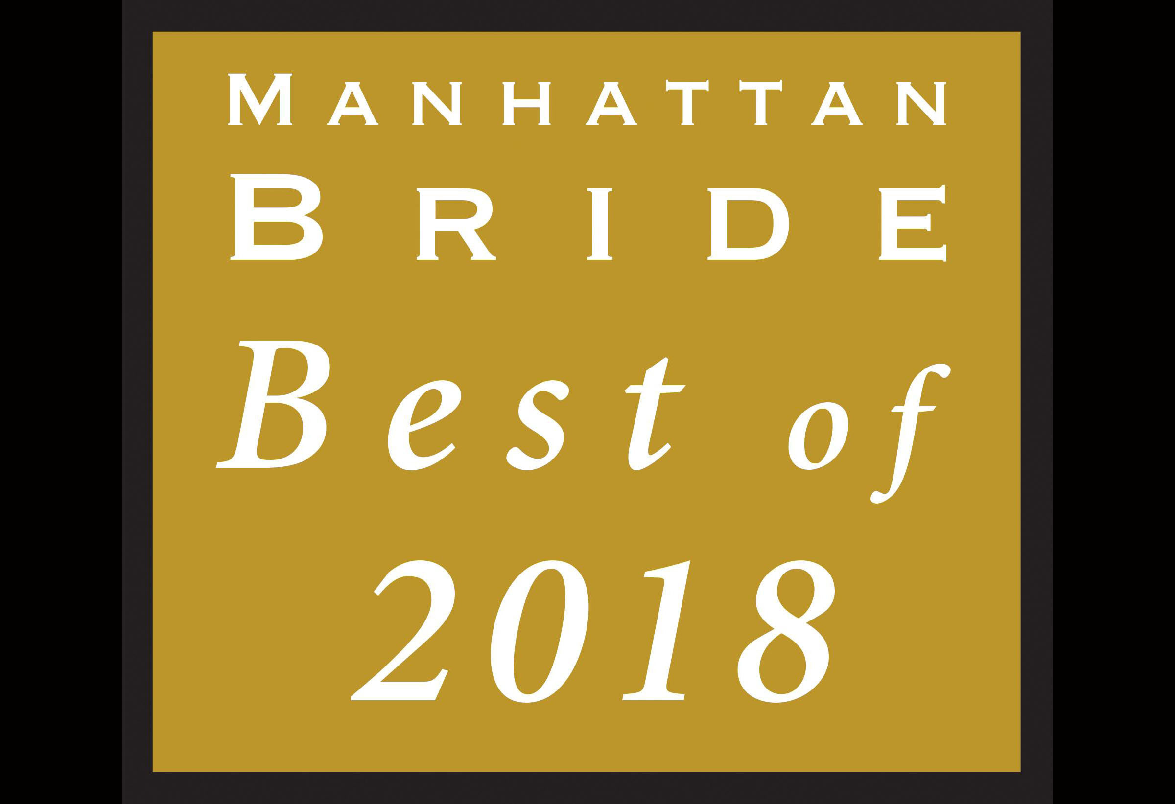 M&V Limousine named one of the Manhattan Bride's BEST OF 2018