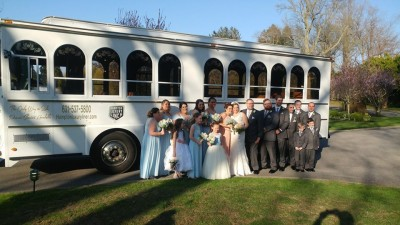 wedding shuttle in NYC
