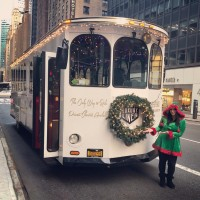 Christmas Trolley in NYC
