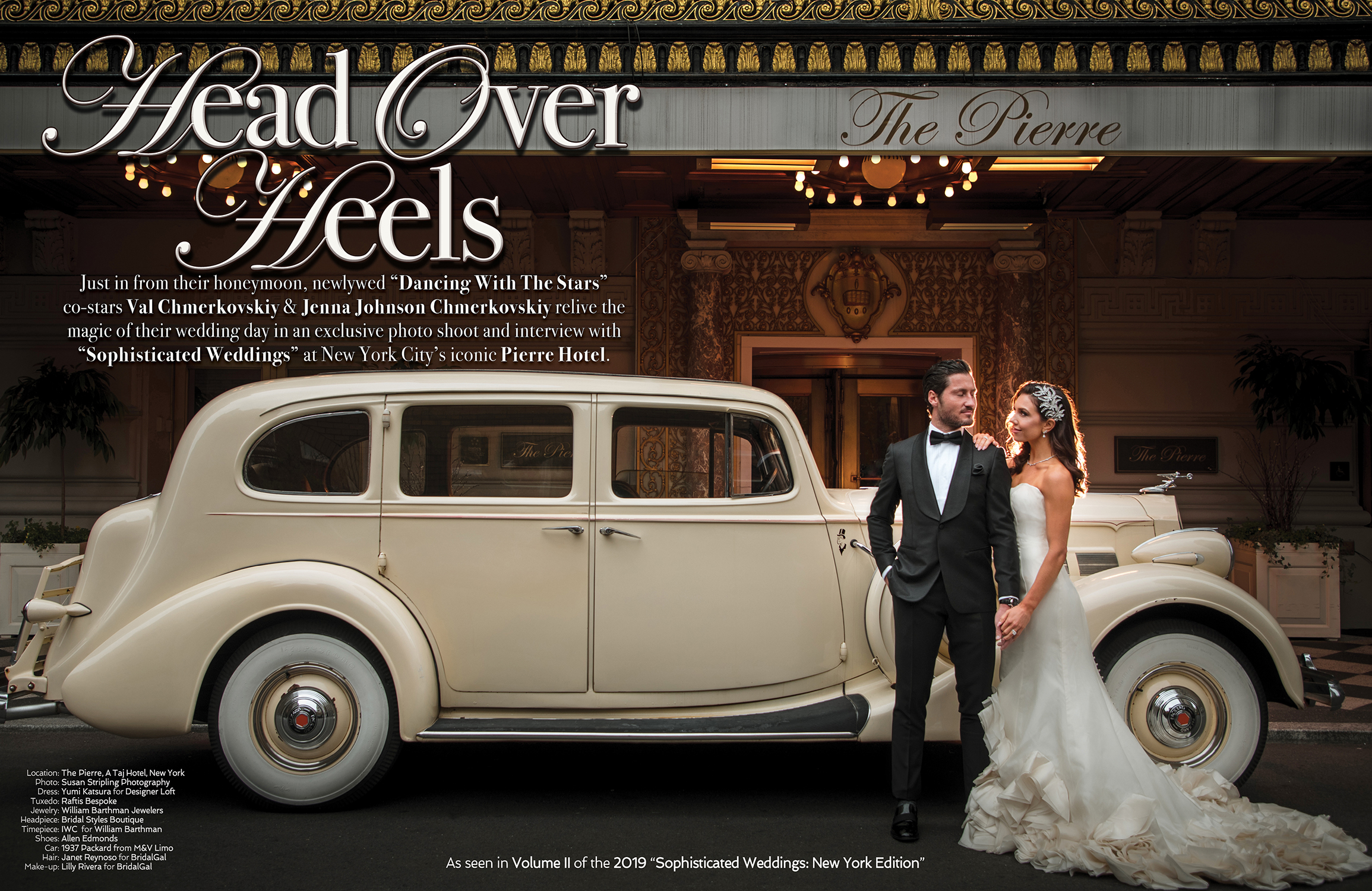 Sophisticated Wedding Limo in New York